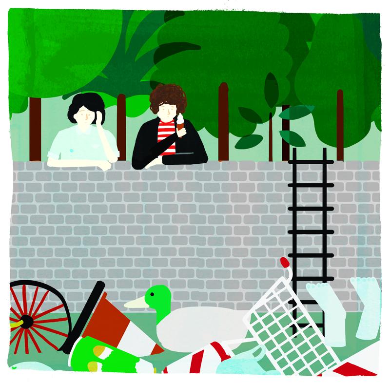Illustration by Fuchsia Macaree