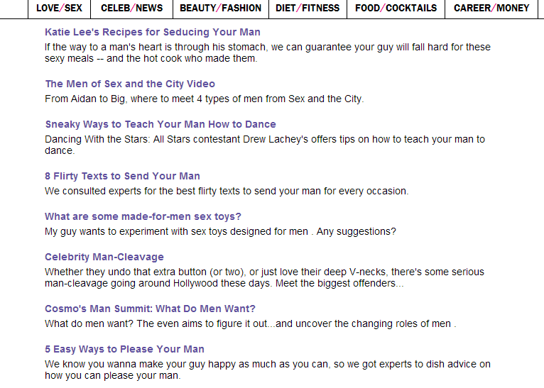 The Most Sexist Website On The Internet?