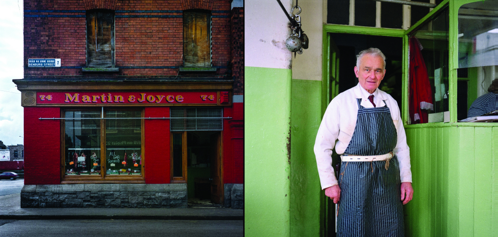 Patrick Gallagher of Martin+Joyce's Butcher shop Benburb Street Dublin SMALLER