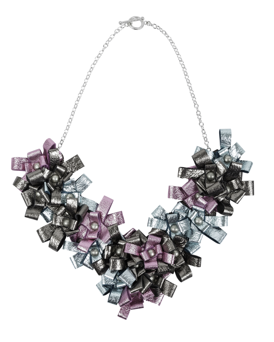 Manley SS16 Cori Necklace - Old silver