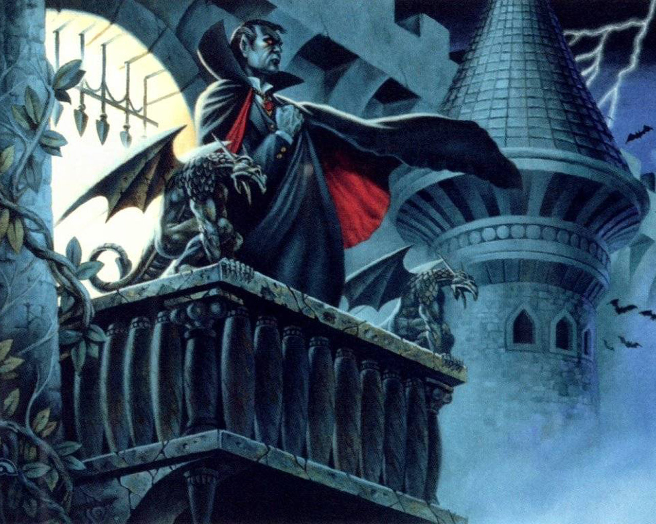 Games - Like a Boss - Count Strahd von Zarovich