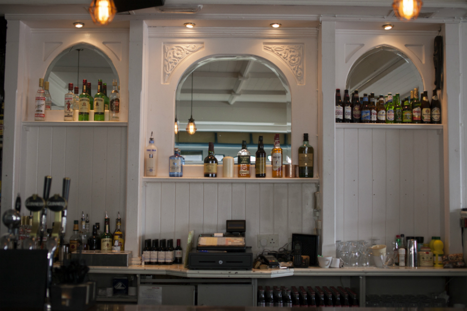 Speaking Of Décor Mission Bar Is Markedly Diffe In Earance To Its Sister Pub Or Most Other Pubs For That Matter Bright And Airy The White Walls