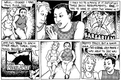 dykes_to_watch_out_for_bechdel_test_origin