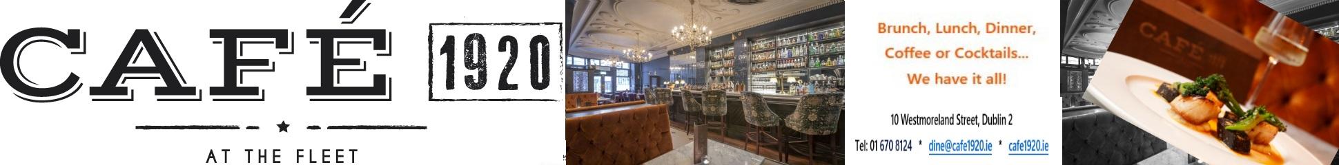 Café 1920 opening